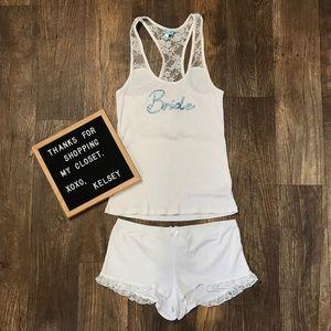 Bridal Pajama Set